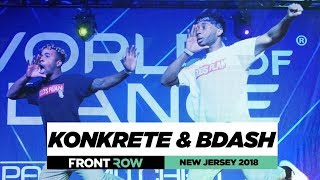 Konkrete & BDash | FrontRow | World of Dance New Jersey 2018 | #WODNJ18
