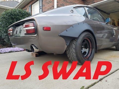 LS-Swap 240z Exhaust Clips & Ride-Along