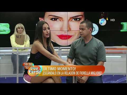 ¡Escándalo en la relación de Fiorella Migliore!