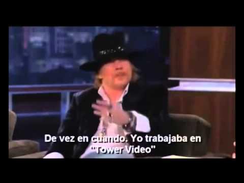 Axl Rose entrevista 2012 subtitulada