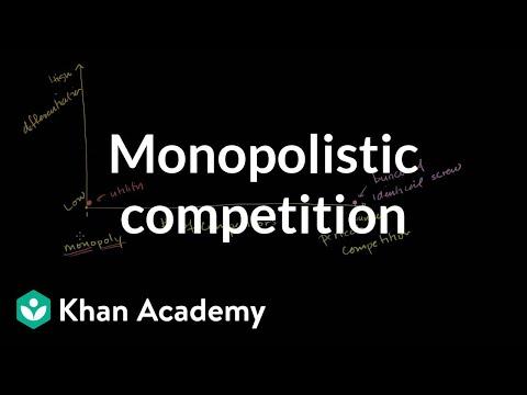 Oligopolies and Monopolistic Competition