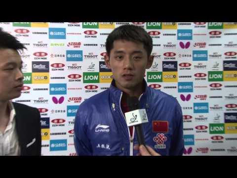 #TTokyo2014 Interview - Zhang Jike