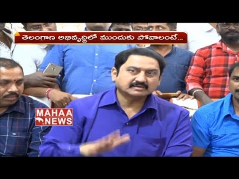 Hero Suman Sensational Comments On Cm KCR | Telangana Politics | Mahaa News