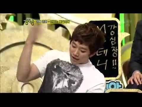 [100209] Junho (2PM) vs Eunhyuk (Super Junior) Dance Battle