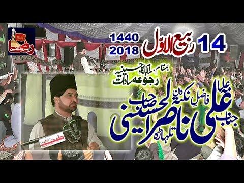 Allama Ali Nasir Talhara | 14 Rabi Ul Awal 2018 | Rajoa Sadat Mandi bahauddin www.Gujratazadari.com