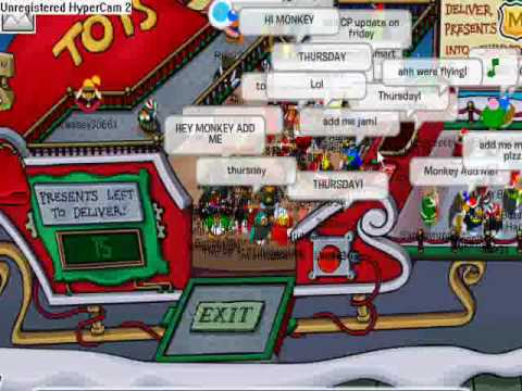 Club Penguin - Meeting Aunt Arctic (December