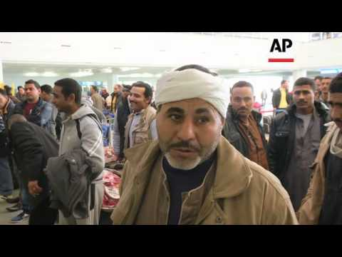 Egyptians leave Libya because of worsening security situation