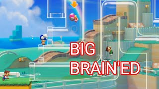 OUTSMARTING a Pick-a-Pipe Level — Mario Maker 2 Multiplayer Versus