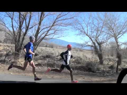 Meb Keflezighi Interval Session for 2012 Olympic Marathon Trials