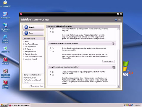 McAfee Internet Security 2009 Prevention Review and Test