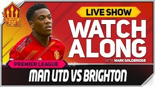 Manchester United vs Brighton LIVE Watchalong