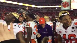Download TigerNet - Ben Boulware tells future Tigers to carry on winning tradition 3Gp Mp4
