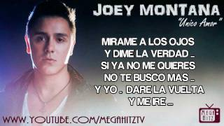 Watch Joey Montana Unico video