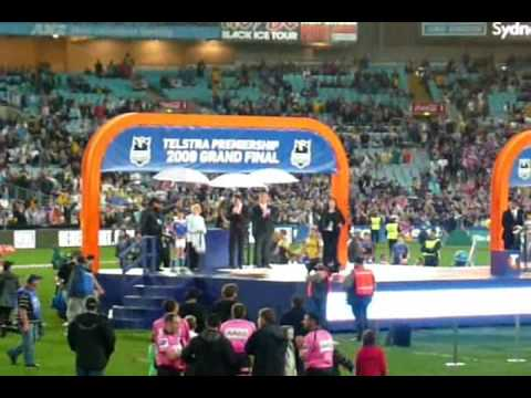 Part 2 of 2 of the 2 part series of the 2009 nrl grand final with melbourne storm vs the parramatta eels. This has parts from the game when melbourne smashed...
