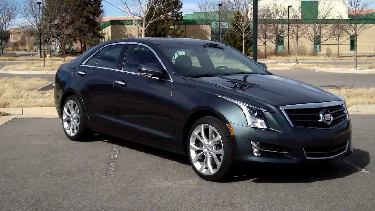 real first impressions video 2013 cadillac ats awd 2 0t youtube. Black Bedroom Furniture Sets. Home Design Ideas