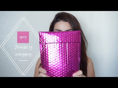 Ipsy JANUARY Unboxing | 2017 ♥