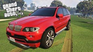 GTA 5 MOD : BMW X5 E53 2005
