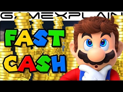 Super Mario Odyssey - How to Earn 10,000 Coins in 1 Hour! (Fast Cash! - Spoilers!)