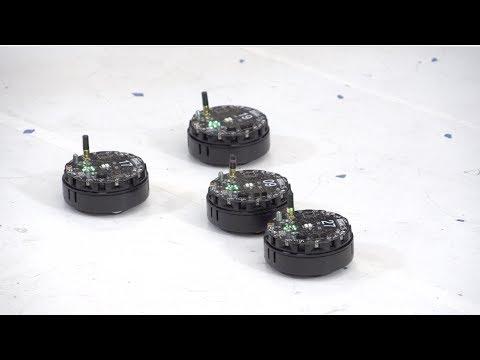 Swarm robotics at Rice University