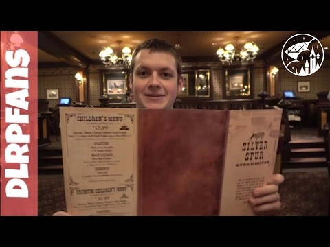 Silver Spur Steak House Lunch Review in 4K at Disneyland Paris