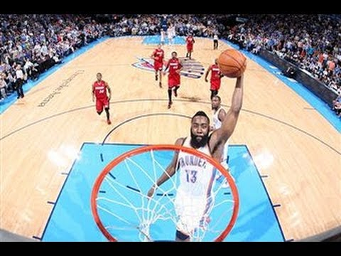 James Harden`s Top 5 Plays of the Season