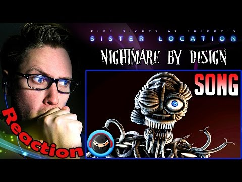"(SFM) ENNARD SONG ""Nightmare by Design"" by TryHardNinja & Hipsta Clique REACTION!"