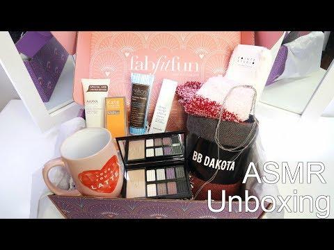 ASMR Fabfitfun Unboxing || TenaASMR ♡