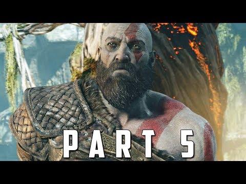 GOD OF WAR Walkthrough Gameplay Part 5 - BRENNA DAUDI BOSS (God of War 4) thumbnail