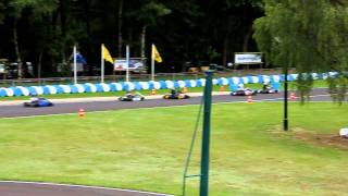 Karting RK1 Eefde 03 juli 2011 Start 2e heat