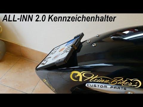 #2 HeinzBikes ALL-INN 2.0 Kennzeichenhalter fertigstellung an XV 1900 [Deutsch]