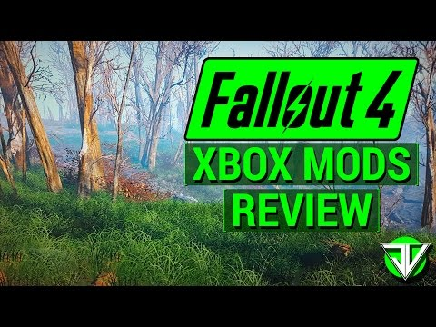 FALLOUT 4: Xbox One CONSOLE MODS Review! (Did Bethesda Succeed with Console Mods?)