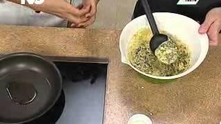 Cooking | Receta para preparar Tortitas de Espinaca | Receta para preparar Tortitas de Espinaca