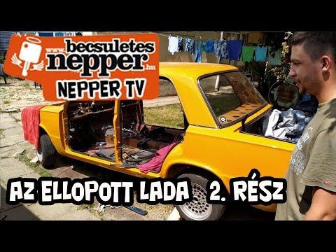 NepperTV-Az ellopott és megtalált Lada feltámasztása. 2. rész.