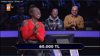 "ÇOMÜ Öğrencisi ""Kim Milyoner Olmak İster?"" Yarışmasında 60 Bin TL Kazandı"