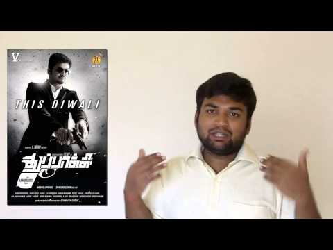 Thuppakki Tamil Movie Review By Prashanth video
