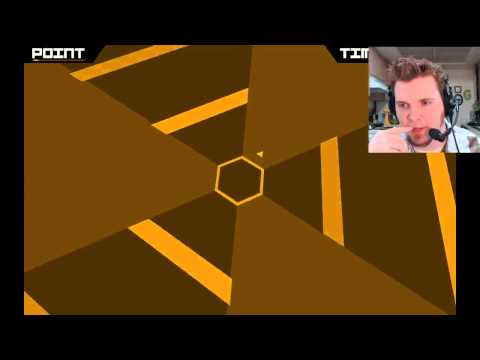 Super Hexagon gameplay highlight