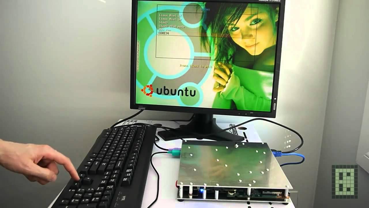 Diy Desktop Computer From Laptop Motherboard And Aluminum