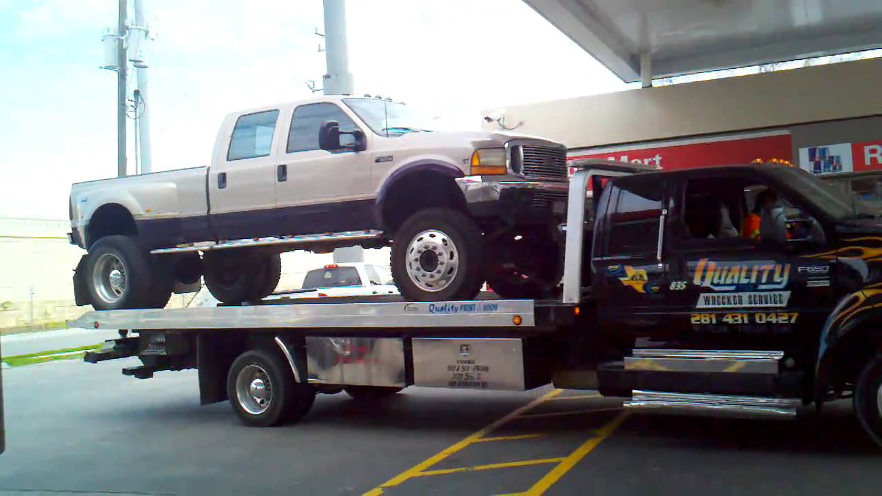 Towed F350 Dually Lifted