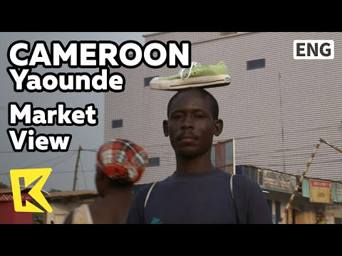 【K】Cameroon Travel-Yaounde[카메룬 여행-야운데]도심 속 시장 풍경/Market View/Downtown Street/Taxi/Shoes