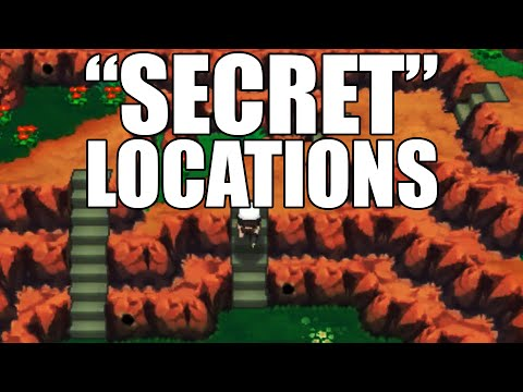 How To Get To The secret Locations For Secret Bases - Omega Ruby And Alpha Sapphire video