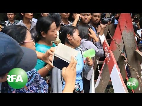 Myanmar Charges 69 Activists With Rioting