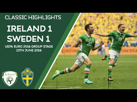 CLASSIC HIGHLIGHTS | Ireland 1-1 Sweden - UEFA Euro 2016 Group Stage