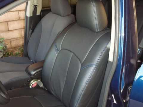 Nissan Versa Hatchback 2010. Clazzio Car Seat Cover Installation for Nissan Versa Hatchback (#39;07 model ~