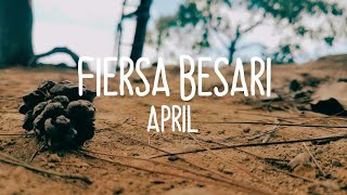 Fiersa Besari - April Video With Lyric (by : @maulanaaja23 Song by : @FiersaBesari)