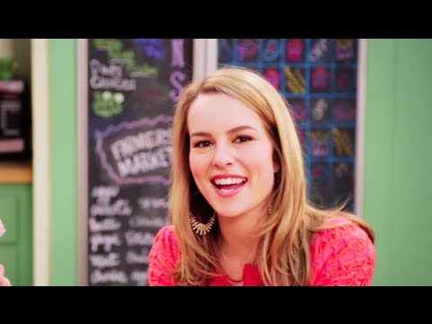 Bridgit Mendler Behind the Scenes of Good Luck Charlie Season 4!