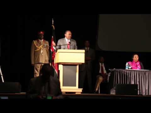 Uhuru Kenyatta Speech In Boston - 26 Sep 2014