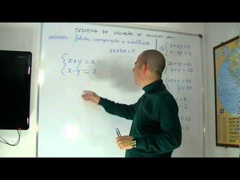 Matemática - Aula 17 - Sistemas de Equação do Primeiro Grau