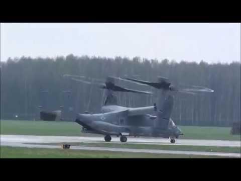 CV-22 Osprey I MC-130J Hercules W Radomiu (19.04.2015)