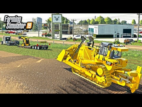 BUILDING AN OFF-ROAD PARK! (RCC CUSTOM TRACK) | FARMING SIMULATOR 2019