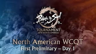 North American World Championship Qualification Tournament First Preliminary - Day 1